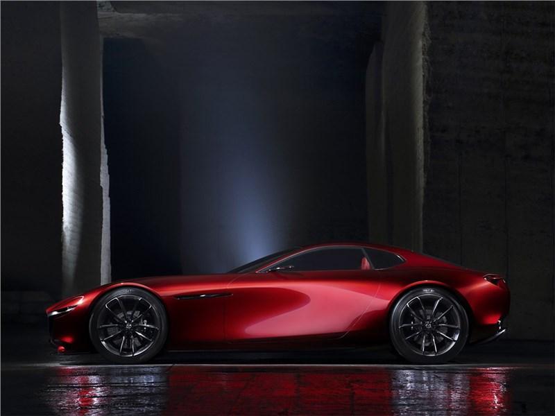 Mazda RX-Vision Concept 2015 вид сбоку