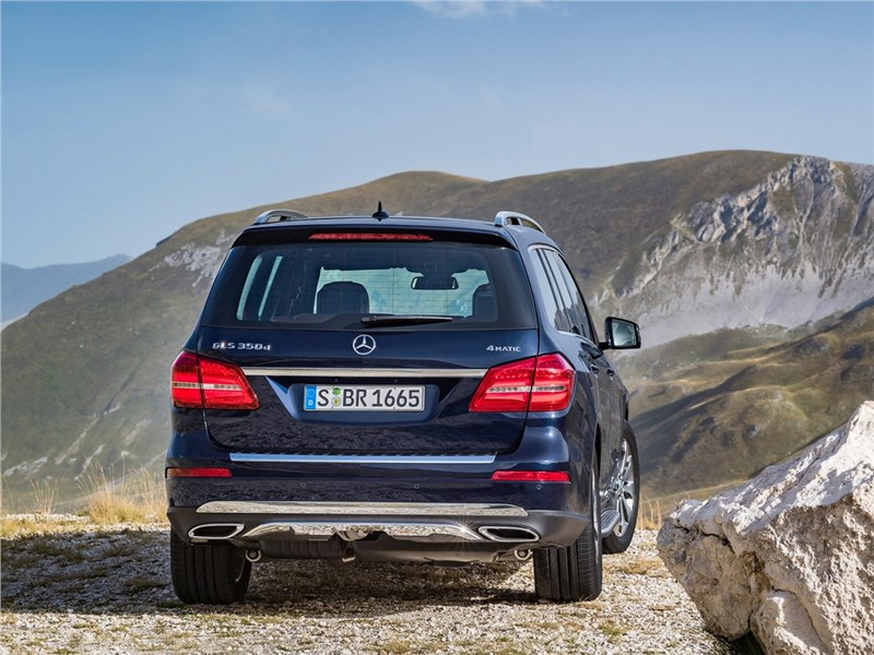 Mercedes-Benz GLS 2016 вид сзади