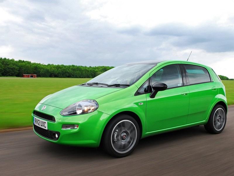 Малолитражки второго эшелона (Peugeot 206, Renault Clio II, Fiat Punto) Punto поколение III рест.
