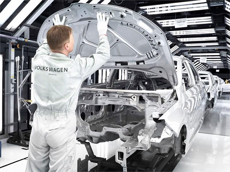 Заводские рабочие Volkswagen отказались увеличить производительность труда