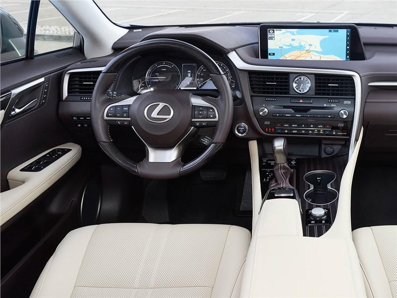 Lexus RX 2016 водительское место
