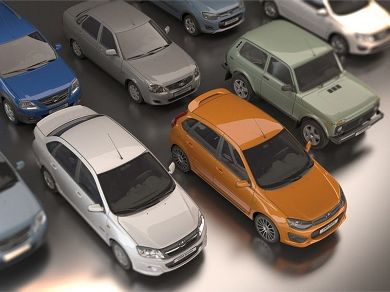 Объем продаж Lada в Латвии вырос почти на 3 тысячи процентов