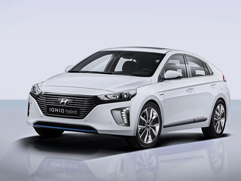 Hyundai представил в Женеве проект IONIQ