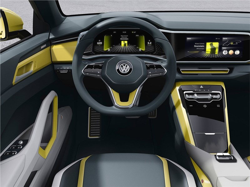Volkswagen T-Cross Breeze Concept 2016 салон