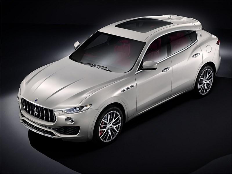 Новый Maserati Levante - Maserati Levante 2017 В погоню