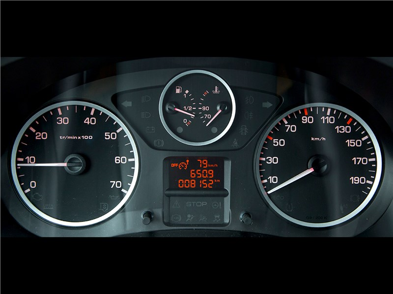 Citroen Berlingo 2015 приборная панель