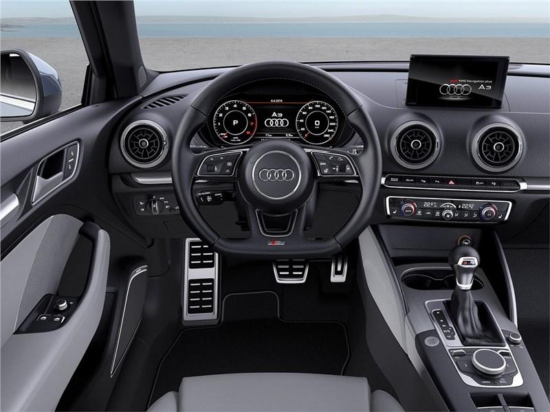 Audi A3 2017 салон