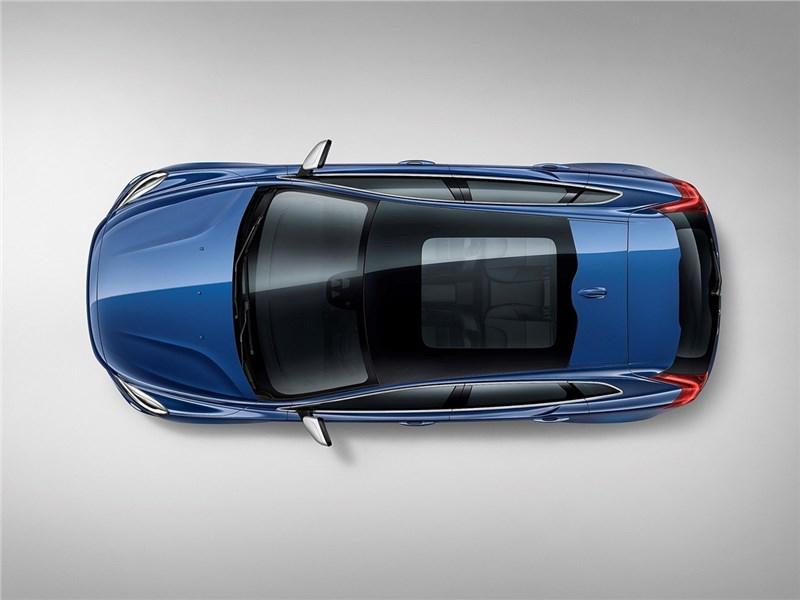 Volvo V40 2017 вид сверху