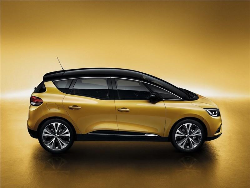 Renault Scenic 2017 вид сбоку