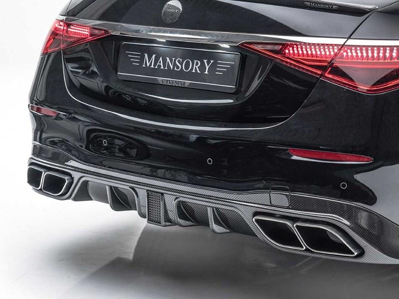 Ателье Mansory представило тюнинг-проект S-Class