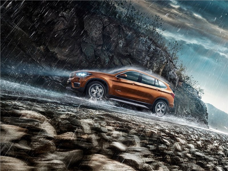 BMW X1 Long Wheelbase 2017 в горах