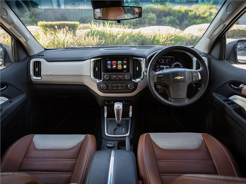 Chevrolet Trailblazer 2016 водительское место