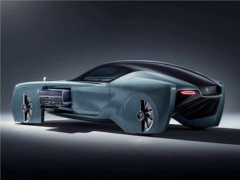 Rolls-Royce Vision Next 100 concept 2016 вид сбоку сзади