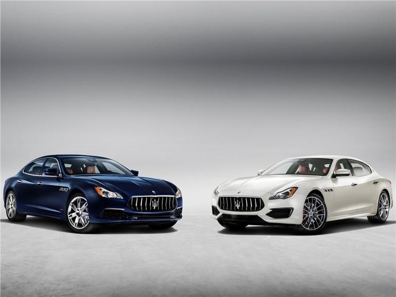Maserati Quattroporte 2017 Gran Lasso и Gran Sport