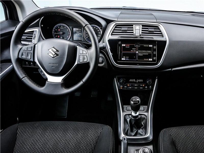 Suzuki SX4 2016 водительское место