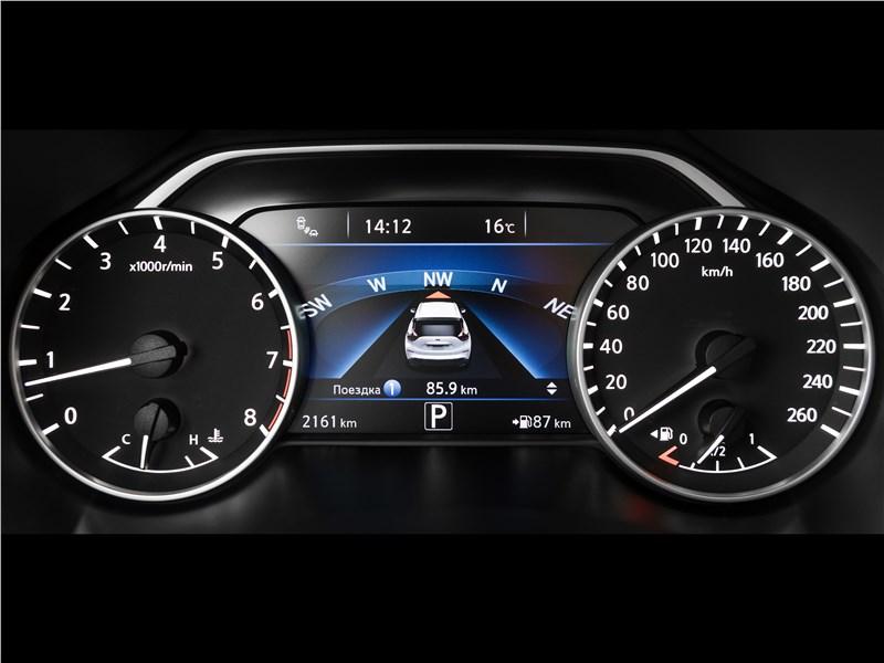 Nissan Murano 2015 приборная панель