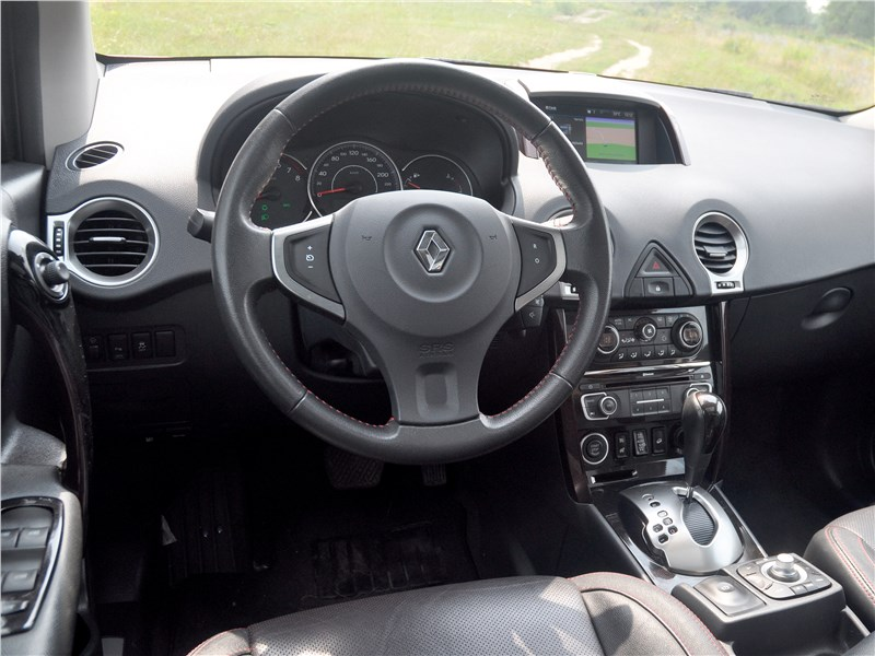 Renault Koleos 2014 салон