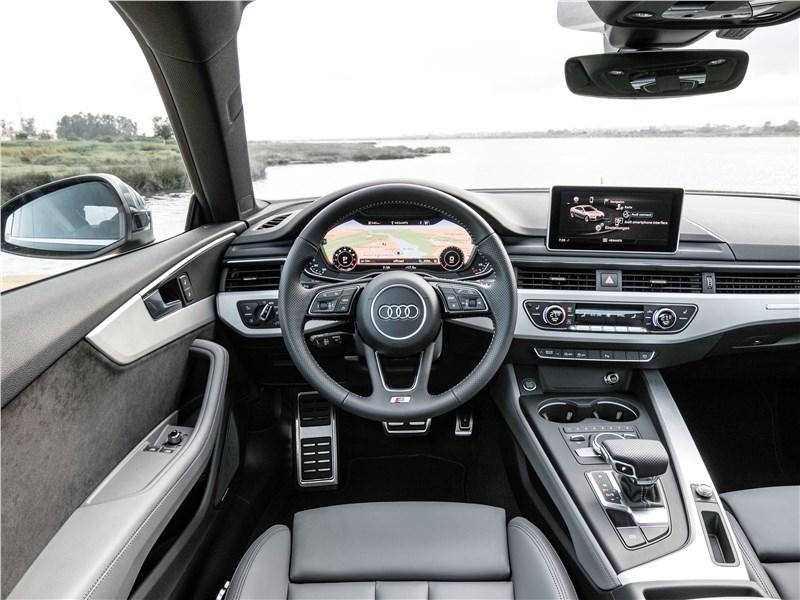 Audi S5 2017 салон