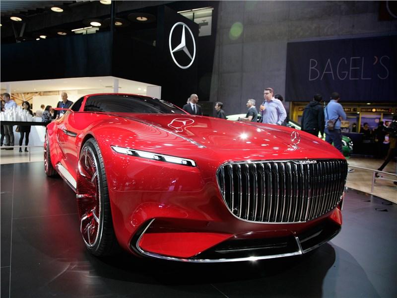 Vision Mercedes-Maybach 6 2016 Роскошь в абсолюте