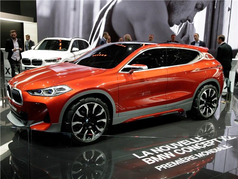 Новый BMW X2 - BMW X2 concept 2016 В полку «иксов» прибыло
