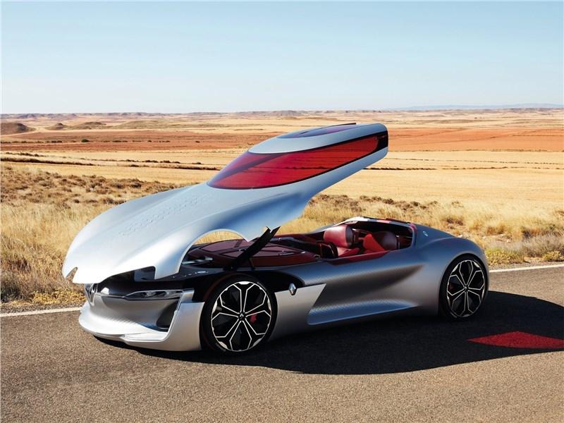 Renault Trezor Concept 2016 вид спереди