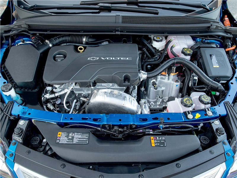 Chevrolet Volt 2016 двигатель