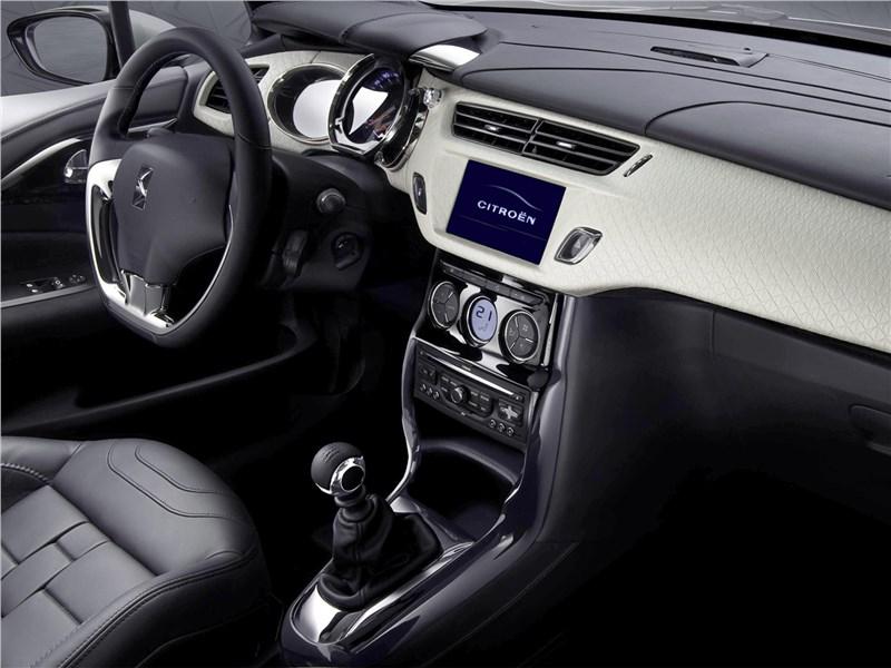 Citroen DS Inside concept 2009 салон