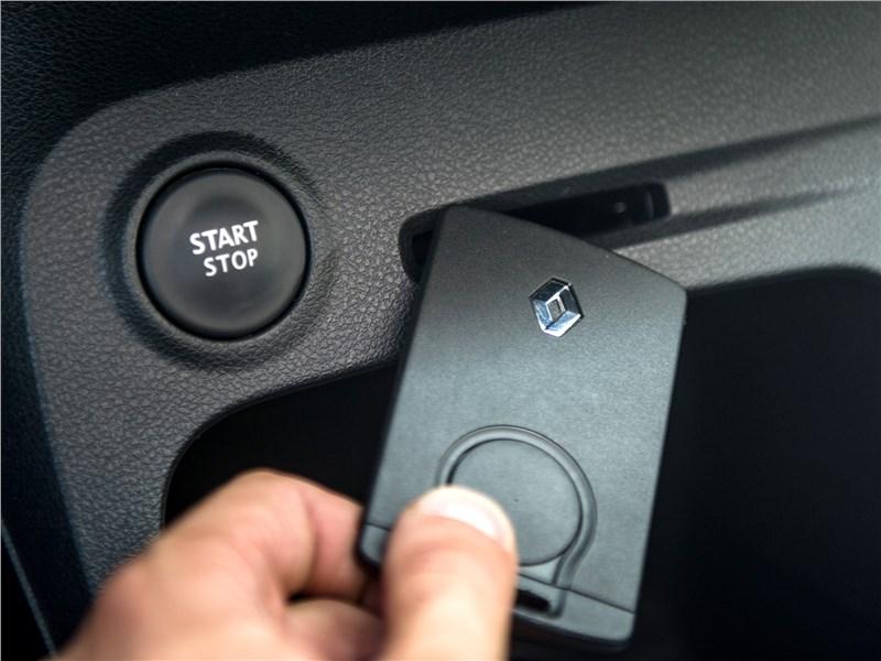 Renault Kaptur 2016 ключ-карта