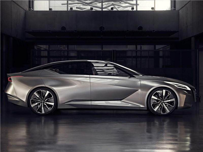 Nissan Vmotion 2.0 Concept 2017 вид сбоку