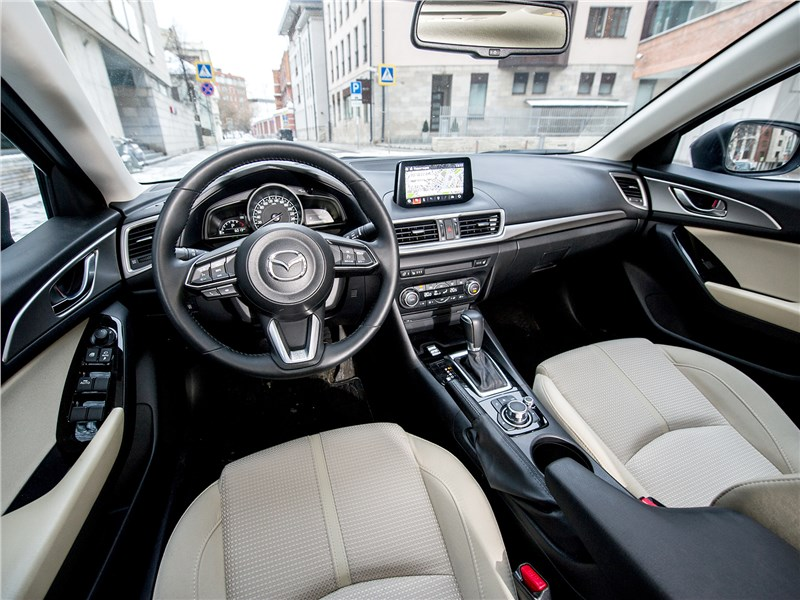 Mazda 3 sedan 2017 салон