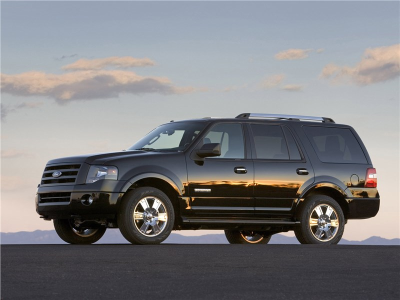 Ford Expedition 2007 вид сбоку