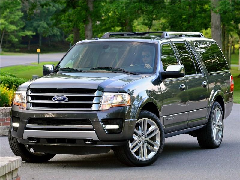 Ford Expedition 2015 вид спереди сбоку
