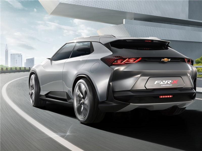 Chevrolet FNR-X Concept 2017 вид сзади
