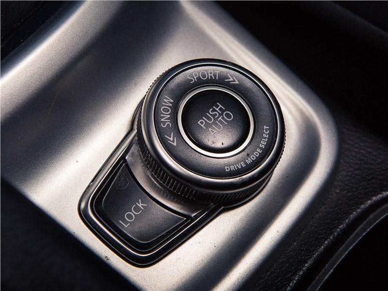 Suzuki Vitara 2015 переключение режимов