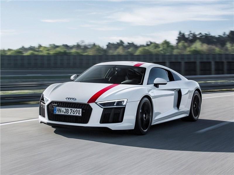Audi R8 RWS 2018 вид спереди