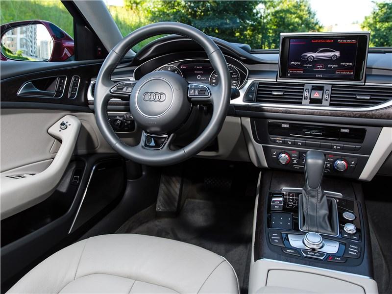 Audi A6 2015 салон