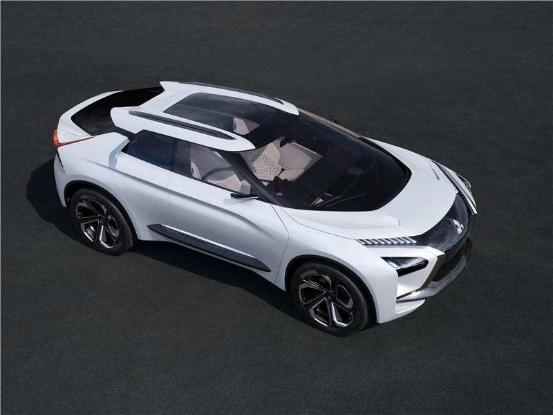 Mitsubishi e-Evolution Concept 2017 вид сверху