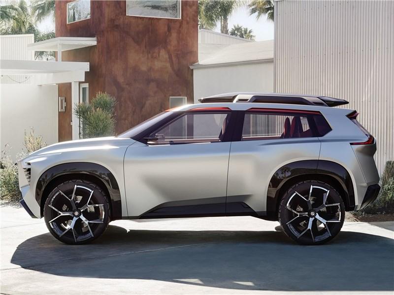 Nissan Xmotion Concept 2018 вид сбоку