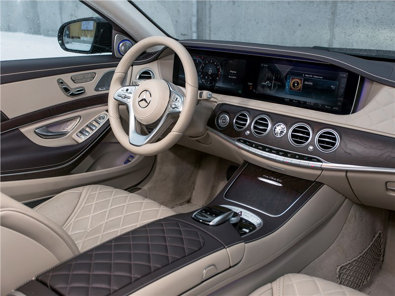 Mercedes-Maybach S 450 4Matic 2018 салон