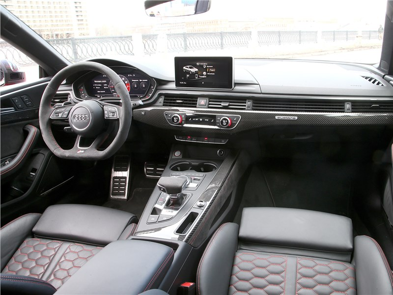 Audi RS5 2018 салон
