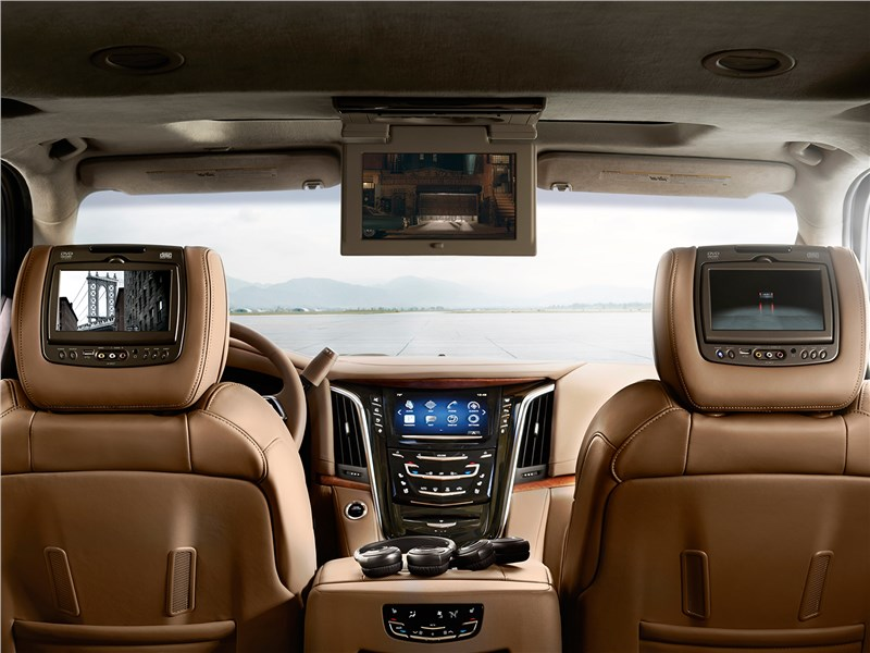 Cadillac Escalade 2015 салон