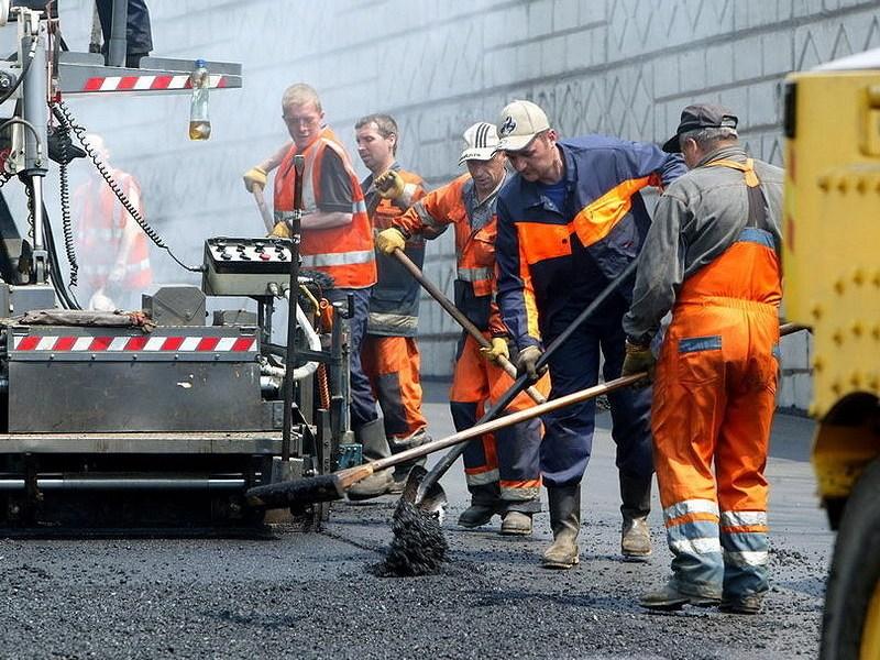 О дорожных работах будут предупреждать в Интернете