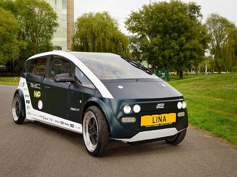 В Голландии сделали автомобиль из свеклы и льна