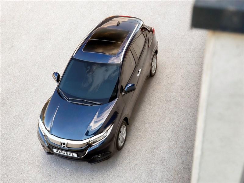 Honda HR-V 2019 вид сверху