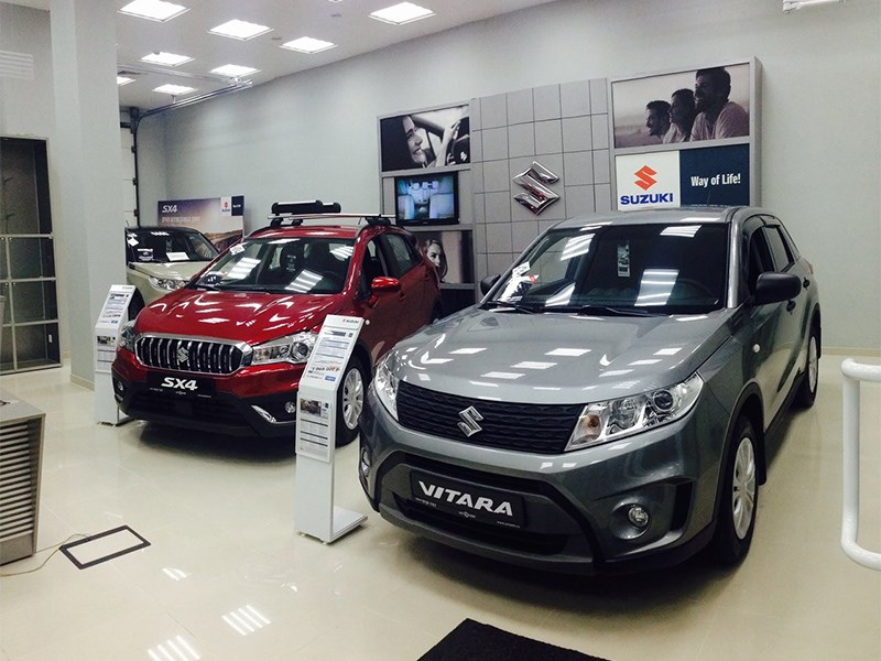 Впечатляющий успех Suzuki в России