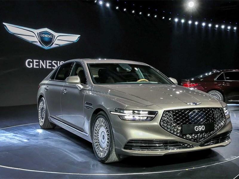 Genesis G90 представлен официально