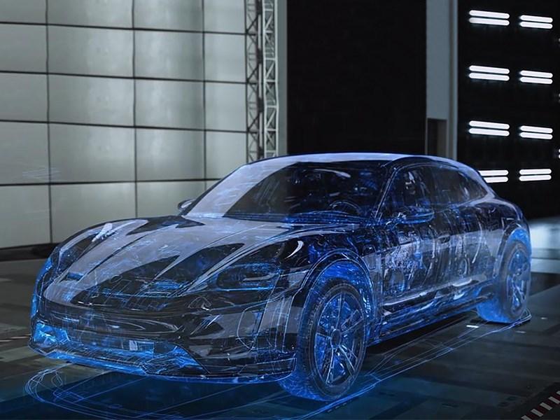 Porsche проводит тесты в матрице Фото Авто Коломна