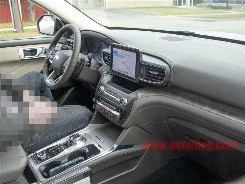 Новый Ford Explorer показали изнутри Фото Авто Коломна
