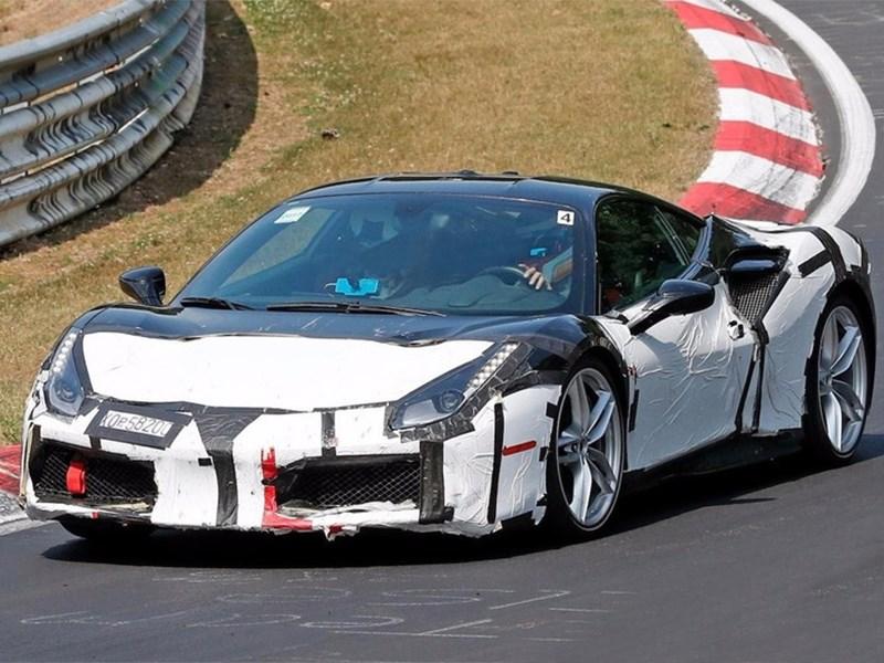 Ferrari готовит преемника 488 модели