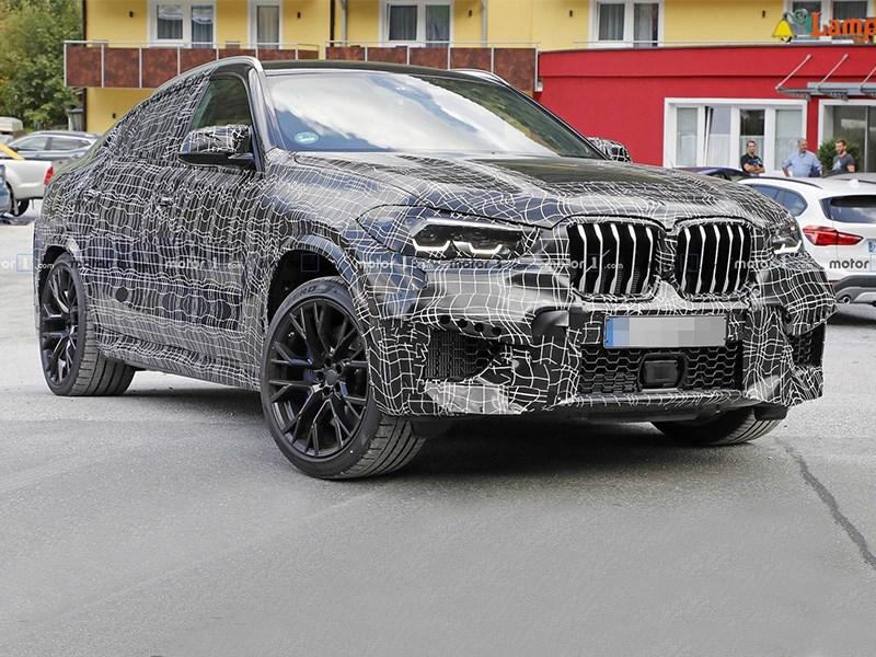 Шпионы поймали новый BMW X6